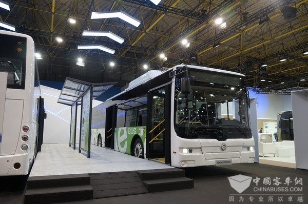 Golden Dragon Pushes Global Bus Manufacturing Industry to A New Height