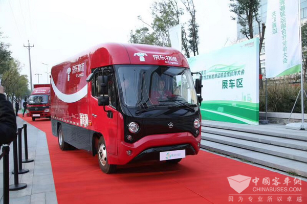 Yinlong Logistic Vehicles Ready For Service