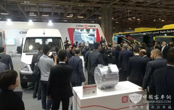 CRRC Electric Buses Shine in Macao