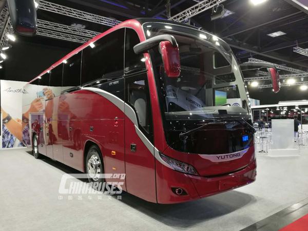 Yutong Attends Busworld Kortrijk 2017