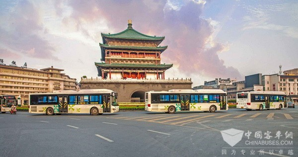 Higer New Energy Buses Provide Greener Transport Services in Xi'an