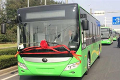 200 Yutong Full Electric Buses to Run in Luohe City
