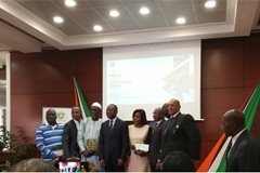 HIGER Attends Annual Road Transport Industry Award Ceremony Organized by Ministry of Transport of Ivory Coast