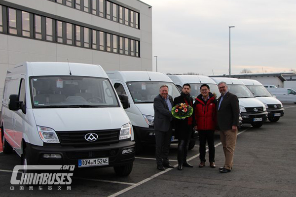 200 Units SAIC Datong EV80 Arrived in Germany for Operation
