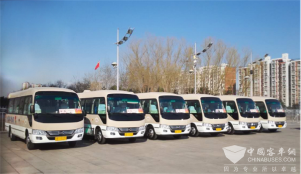 """Ankai Buses Serve 2018 """"Two Sessions"""" With High Standards"""
