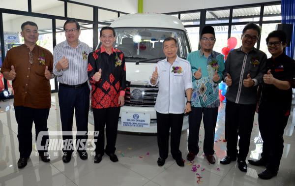 Malaysia Raya Khas Launches Golden Dragon Van
