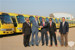 375 Units Golden Dragon School Buses Started Operation in Kuwait