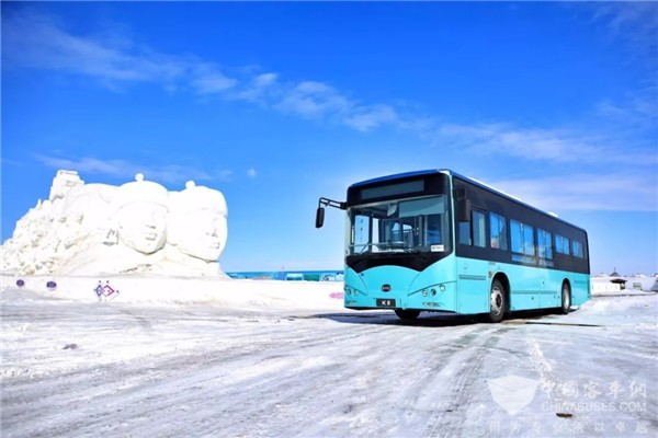 BYD Electric Buses Well Stood -50℃ in Hailaer