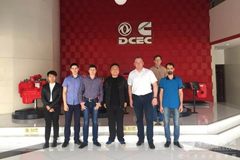 Russia-based ZCK Paid a Visit to Dongfeng Cummins