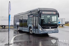 CRRC Electric Buses to Start Operation in France