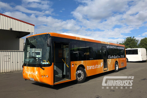Microvast Powered New Zealand's First Electric Bus
