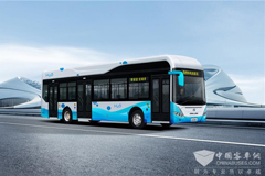 King Long Rolls Out a 12-meter Hydrogen Fuel Cell City Bus