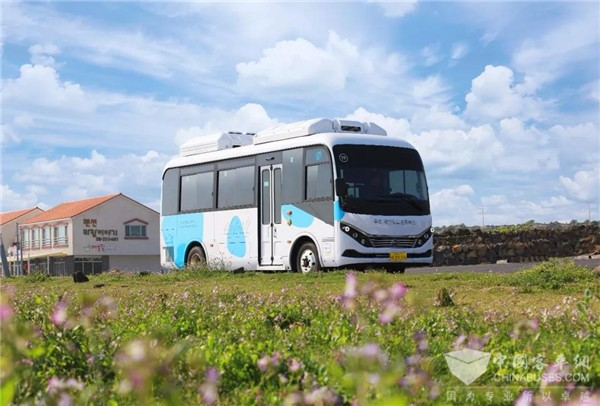 20 Units BYD Electric Buses Start Operation in Cheju