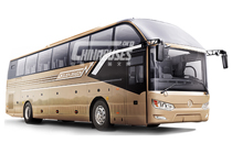 Golden Dragon Bus Triumph Series Double Windshield Luxury Bus