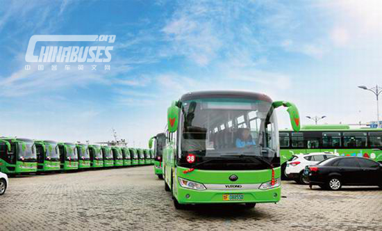 50 Yutong full electric buses delivered to Changdao Island-news-www