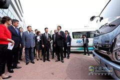 Kyrgyzstan President Visits Foton