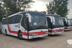 100 Units Sunlong Electric Buses to Start Operation in Beijing