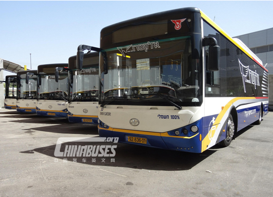 Higer Ultra Capacitor Buses Operate Smoothly in Israel-news-www