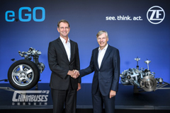 ZF Autonomous and Electric: People Mover to Start Series Production in 2019