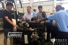 Dongfeng Cummins Working Closely with Tanzania Transportation Company