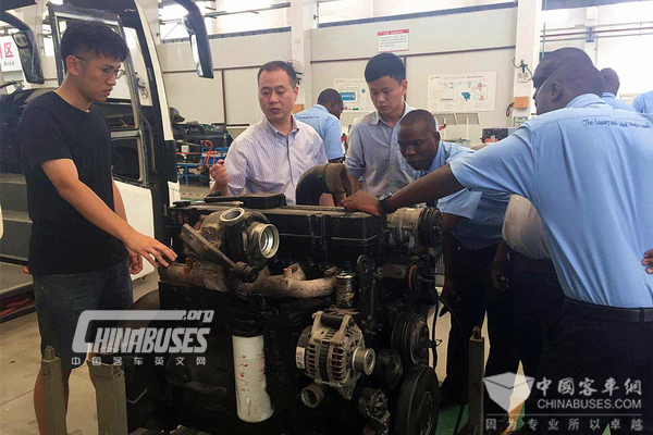 Dongfeng Cummins Working Closely with Tanzania