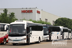 Higer Bus Enters the Market of Ireland Again