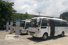 Higer Bus Debuts in the Thailand Mini-coach Replacement Promotion Exhibition
