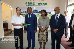 Prime Minister of Cape Verde Ulisses Correia e Silva Pays a Visit to Higer Bus