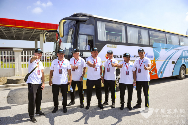 Ankai LNG Buses Travel 20,000 km Across Euroasian Continent