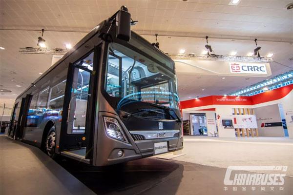 CRRC New Smart Bus Makes its Debut at IAA