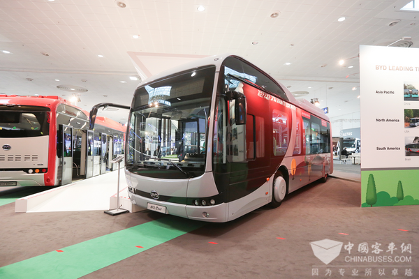BYD Electric Bus Sales Exceed 100 Units on Scandinavia Peninsular
