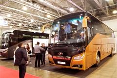 Higer Debuts at Busworld Russia