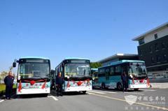 65 Units Ankai Electric Buses to Start Operation in Feixi