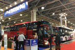 Yutong shines at Busworld Russia 2018