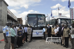 Ghana Auto Distributor Introduces Foton AUV Buses