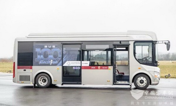 CRRC Secures An Order of 20 Units Buses from France