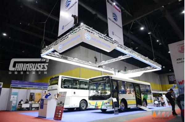 Golden Dragon Won Best Bus & Truck Award in Thailand