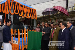 Foton AUV Electric Buses Start Operation in India