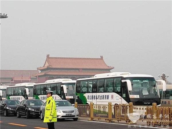 Foton AUV New Energy Buses Make Their Debut at China's Two Sessions