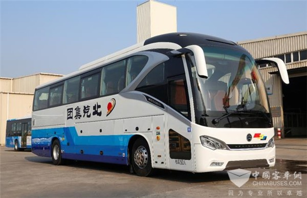 Golden Dragon Navigator Coaches Serve 2019 NPC and CPPCC Sessions