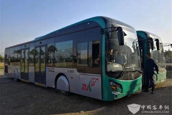 220 Units City Buses Equipped with Yuchai Engines to Start Operation in Pakistan