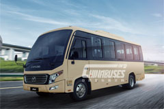 Foton H7 intercity bus+CUMMINS POWER ISF3.8series engine