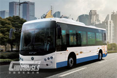 Foton C8L EV city bus