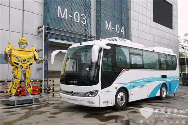 Foton, Toyota and SinoHytec to Jointly Launch Fuel Cell Buses