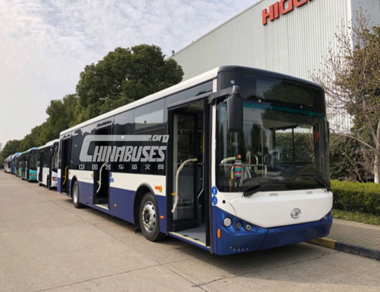 Higer Bus Got Largest City Bus Order in Serbia, A Country along the Belt & Road