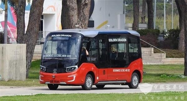 Golden Dragon Rolls Out 5G Autonomous Driving Bus Services