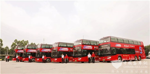5G-Assisted Ankai Electric Buses Start Operation in Guangzhou