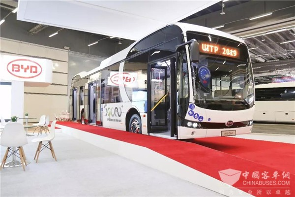 BYD Attends 2019 Global Public Transport Summit