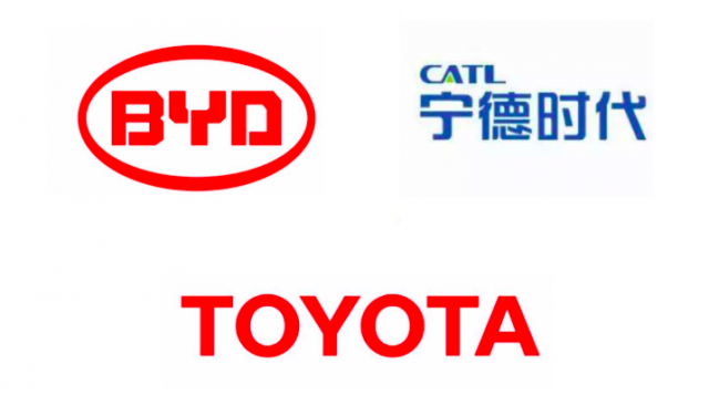 Toyota Establishes Cooperative Ties with CATL and BYD