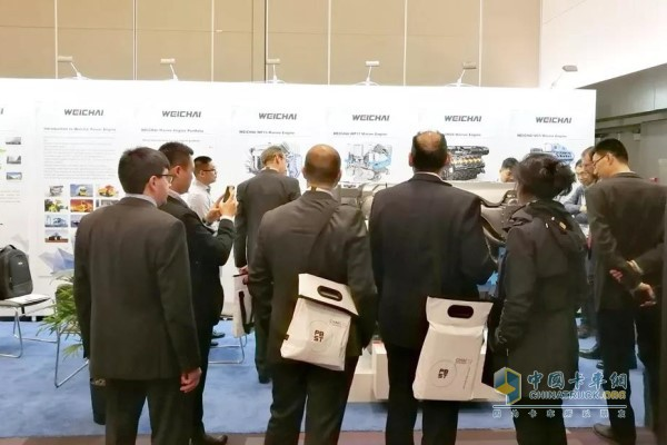 Weichai Attends CIMAC 2019 in Vancouver